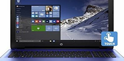 HP Notebook 15z Noble Blue AMD Quad-Core A8-7410 Processor AMD Radeon R5 Graphics 8GB DDR3L 1TB Hard Drive SuperMulti DVD burner Windows 10 Home 64 15.6 diagonal HD WLED-Backit Display Touchsreen
