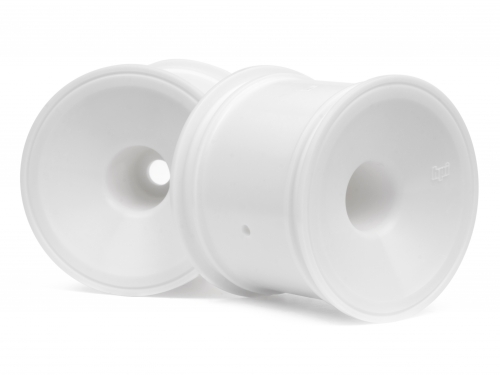 Hpi Dish Wheel White (2.2/2pcs) 1/10 Trucks - product image