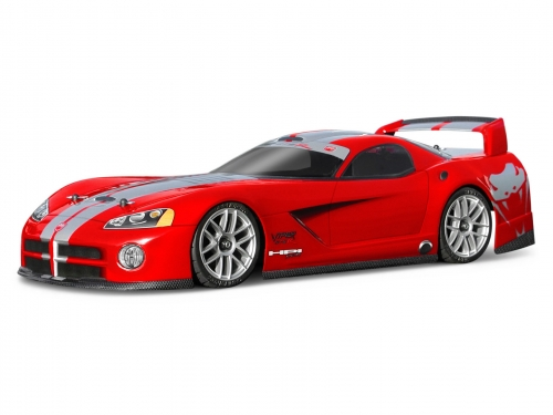 Hpi Dodge Viper Painted Body Red Fully Finished for N3 product image