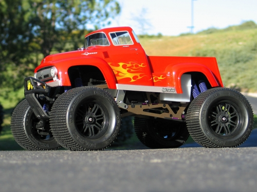 HPi Ford F100 Body (Savage/T-Maxx Clear)