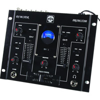 This is a professional high-quality 3-channel DJ sound-mixing panel for use on stages, in discos and - CLICK FOR MORE INFORMATION