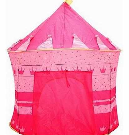 Girls pink princess pop up tent in L36