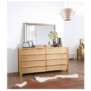 The Hudson 6 drawer chest will add modern contemporary style to your bedroom. Made from wood with an oak-effect finish, the Hudson 6 drawer chest is a practical storage option with 6 separate drawers, with 2 deep drawers at the bottom so you can find - CLICK FOR MORE INFORMATION