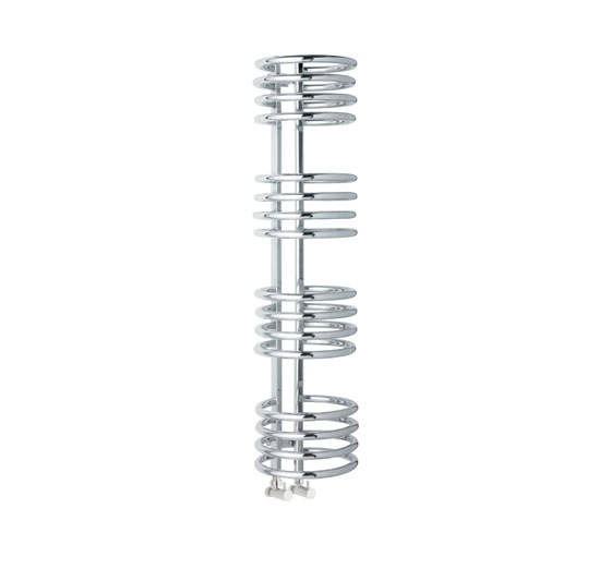 Coil (16 ring) heated towel rail