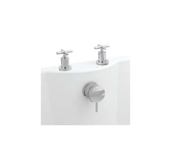 Helix Cross Head Freeflow Bath Filler
