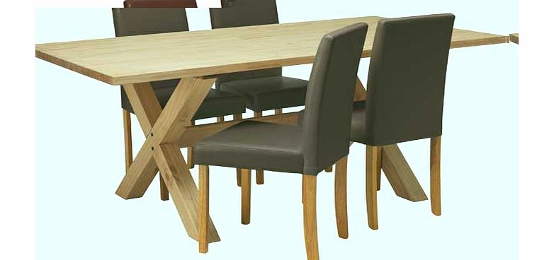 dining chair seat pads : hudson solid wood dining table and 4 chocolate from www.comparestoreprices.co.uk size 782 x 368 jpeg 28kB