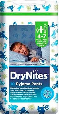 Huggies, 2041[^]10052194 DryNites Pyjama Bed Wetting Pants Boys