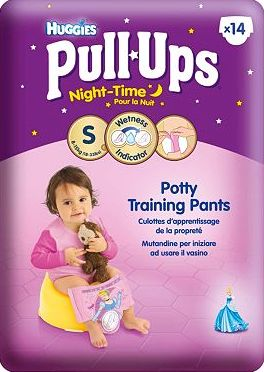 Huggies, 2041[^]10076298 Pull-Ups Night Time Girls Size Small