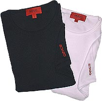 hugo boss red label crew neck t shirt designer clothing. Black Bedroom Furniture Sets. Home Design Ideas