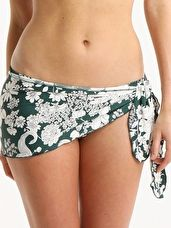 Huit, 1295[^]197019 Flower Bay Low Waisted Brief - Jet Set