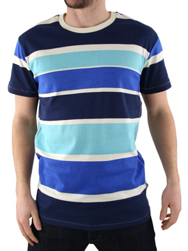 Humor Blue Jakato Stripe T-Shirt product image