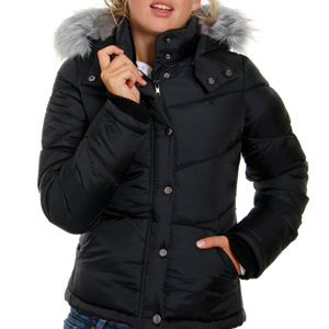 Hurley Ladies Iconic Puffer Quilted jacket