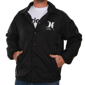 the Hurley Payroll justice? This wicked little windbreaker is a stee
