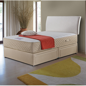 Divan bed luxury 6ft super king size including mattress for 6 foot divan