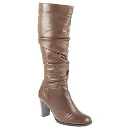 Female Pklsp808 Leather Upper Textile Lining Comfort Boots in Brown