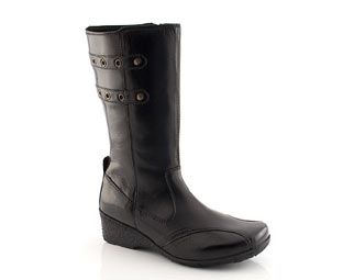 Hush Puppies Leather Boot - Junior