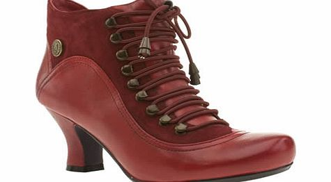 Hush Puppies Red Vivianna Boots