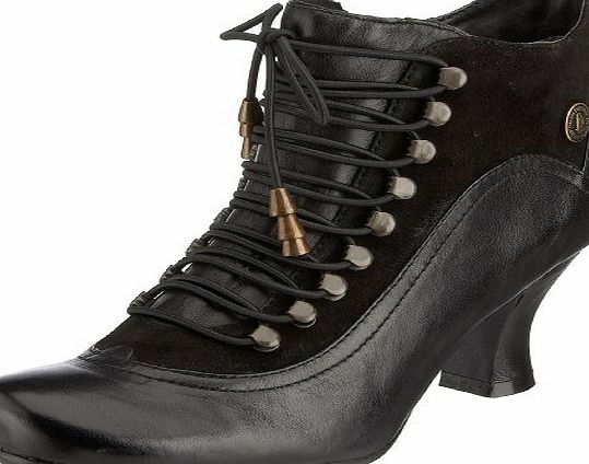 Hush Puppies Vivianna, Womens Combat Boots, Black (Black Multi Lea), 6.5 UK (40 EU)