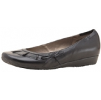 Leather upper. Synthetic lining. Flat wedge sole. Heel height 1.5cm approx. Rubber sole. - CLICK FOR MORE INFORMATION