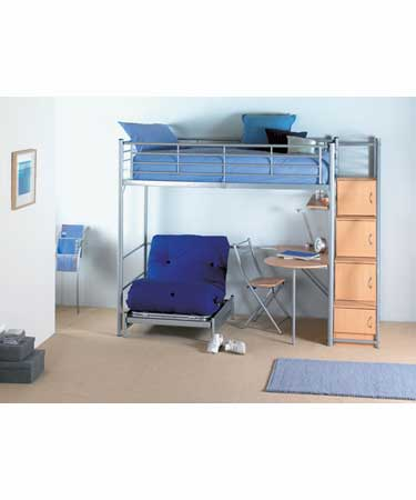 HIGH SLEEPER BUNK BED