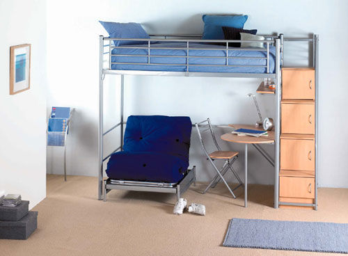 Hyder International Beds Topliner 5ft Kingsize Stowaway Bed Bed Mattress Sale