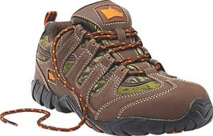 Hyena, 1228[^]3410F Dune Safety Trainers Brown Size 11 3410F