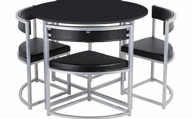 Space Saver Table And Chairs Argos: Metal Chairs
