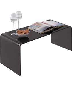 Hygena Mistral Coffee Table Black Acrylic Review Compare Prices Buy Online