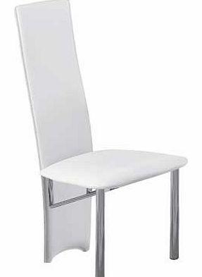 hygena savannah cream pair of dining chairs hygena rennes black