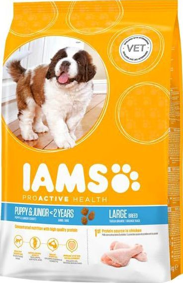IAMS, 2102[^]0138524 Puppy/Junior Dog Large Breed