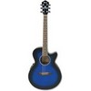 AEG10E Transparent Blue Sunburst.