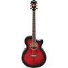 Ibanez AEG20E - Transparent Red Stain