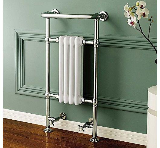 Traditional Heated Towel Rail Column Radiator White: Compare Prices Of Bathroom Radiators, Read Bathroom