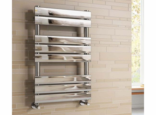 iBath Sacramento Flat Panel Towel Radiator - 800x450mm