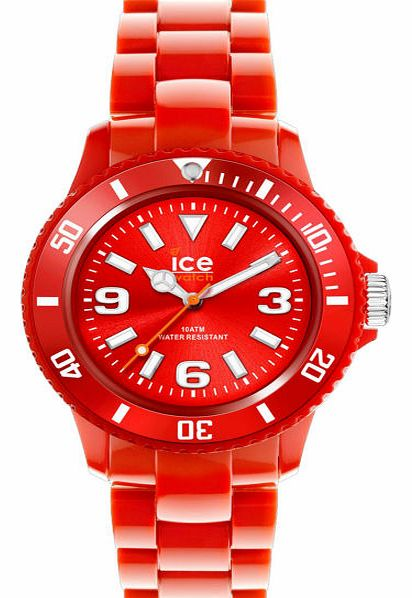 Ice Solid Watch - Red