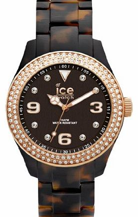 ICE-Watch Ice-Elegant Womens Quartz Watch with Black Dial ...