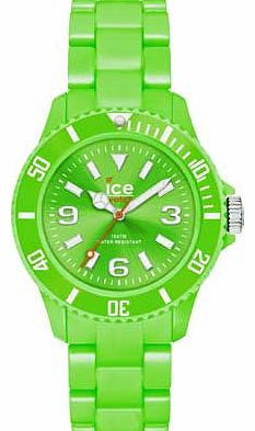 Unisex Ice-Solid Green Watch