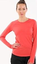 Icebreaker, 1297[^]250851 Womens Zone Long Sleeve Crewe - Grapefruit