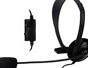 iChoose Limited PS4 Headset for Playstation 4 Console / Compatible Headphones with Microphone / Plugs into Controller Game Pad / iCHOOSE