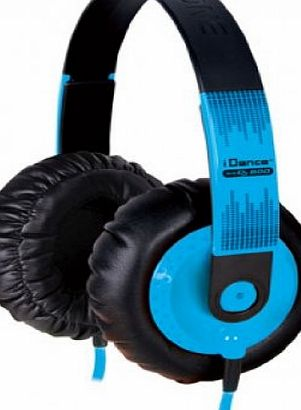iDance SeDJ 900 DJ Headphones Blue