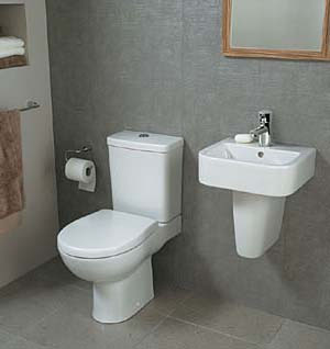 Create Square Close-Coupled WC