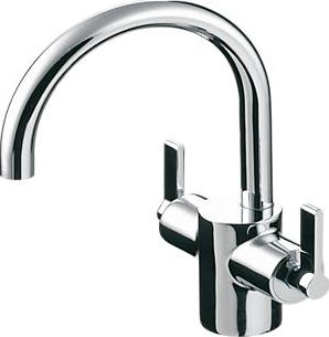 Ideal Standard, 1228[^]10560 Silver Basin Mixer Tap 10560