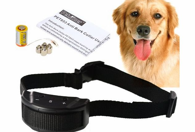 Iegeek Anti Bark Dog Collar Electric Shock Training Stop