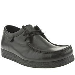 Male Ikon Butch Leather Upper in Black