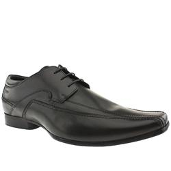 Male Nevoro 3 Eye Tram Leather Upper in Black