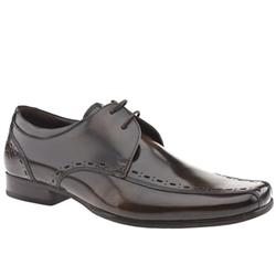 Male Spider Gibson Leather Upper in Brown
