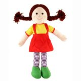 Fair Trade and Handmade Rag Doll Jemima