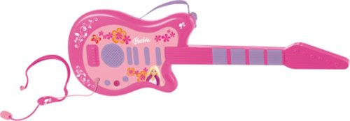 IMC Toys Barbie Electronic Guitar & Microphone