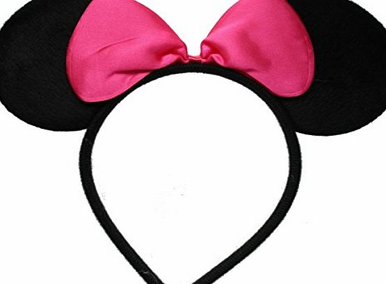 Inca PINK ANGELINA BALLERINA EARS WITH BOW!