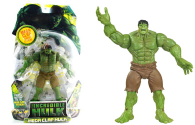 Get ready for carnage with The Incredible Hulk figure series! - CLICK FOR MORE INFORMATION